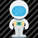 astronaut, astronaut suit, avatar, cosmonaut, spaceman icon