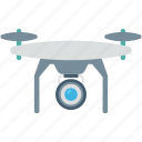 camera drone, quadcopter, quadrotor, quadrotor helicopter, security icon