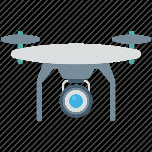 camera drone, quadcopter, quadrotor, quadrotor helicopter, security icon