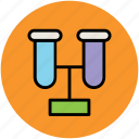culture tube, experiment, lab accessories, lab glassware, lab material, sample tube, test tube icon