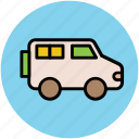 automobile, jeep, journey, suv, transport, travel, vehicle icon