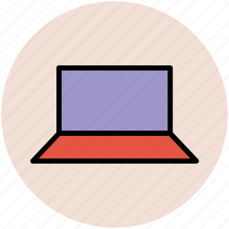 computer, digital computer, laptop, micro computer, notebook, pc, personal computer icon