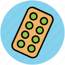 drugs, medical pills, medications, medicines, pills, tablets, vitamins icon