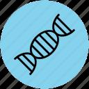 dna, dna helix, dna molecules, dna strand, dna structure, gene, genetic icon