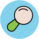 focus, lense, magnifier, magnifying glass, search, view, zoom icon