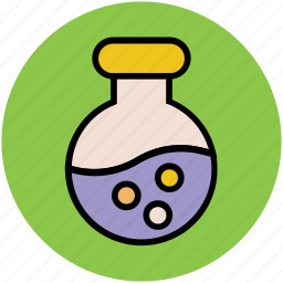 beaker, chemical, lab test, laboratory equipment, science lab instruments, test tube icon