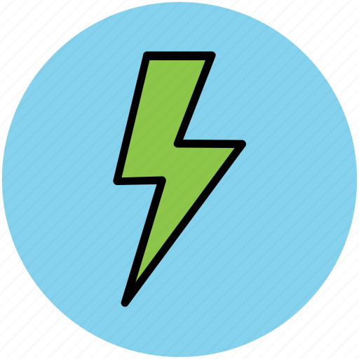 bolt, flash sign, lightning, power, thunder, thunderbolt icon