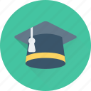 academic, cap, degree, graduate, mortarboard icon