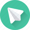 fly, game, origami, paper plane, plane icon
