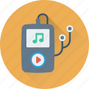 ios, ipod, mp4 player, music player, walkman icon