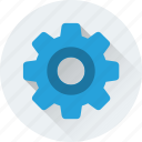 cog, cogwheel, maintenance, repair, services icon