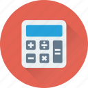 calculation, calculator, figuring, finance, mathematics icon