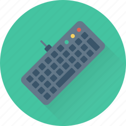 computer, device, hardware, keyboard, typing icon