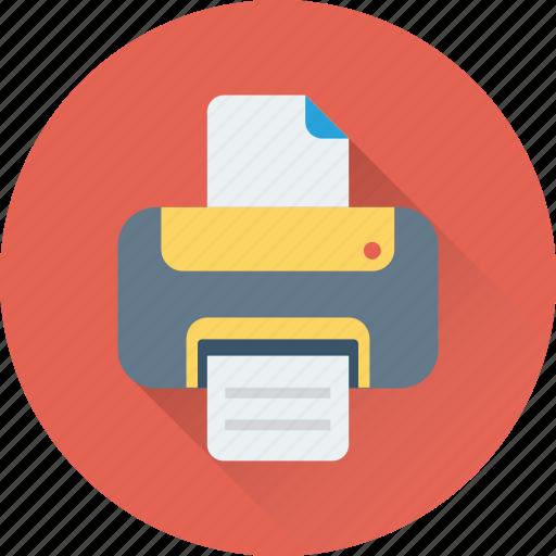facsimile, fax, inkjet printers, machine, printer icon