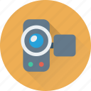 camcorder, camera, film, handycam, video icon