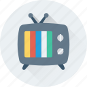 transmission, tv, retro tv, antenna tv, vintage tv icon