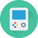 entertainment, fun, game, game console, gameboy icon