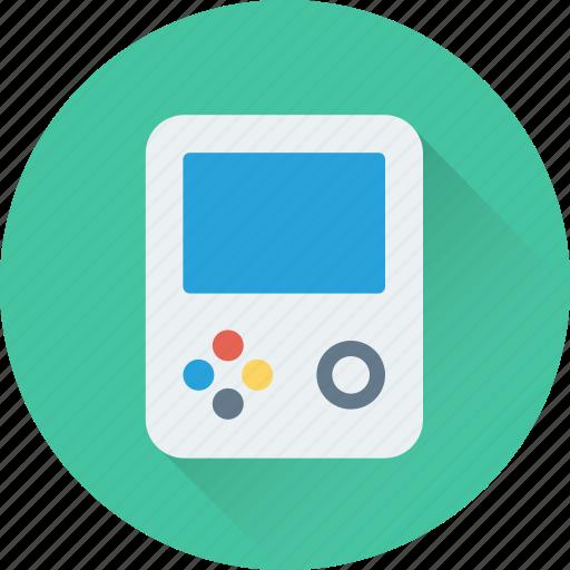 entertainment, fun, game, game console, gameboy icon
