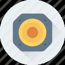 loudspeakers, music, speaker, subwoofer, woofer icon