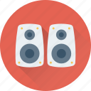 loudspeakers, music, speaker, subwoofer, woofer icon