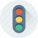 lamps, semaphore, signals, traffic, traffic lights icon