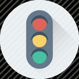 lamps, semaphore, signals, traffic, traffic lights icon