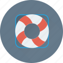 guard, life ring, lifebuoy, lifeguard, lifesaver icon