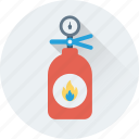 emergency, extinguisher, fire extinguisher, fire safety, flame extinguisher icon