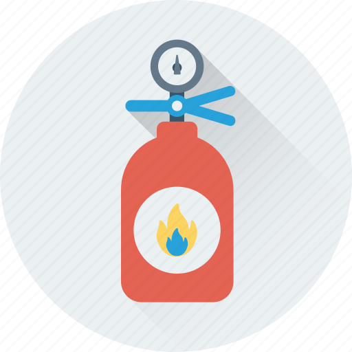 emergency, extinguisher, fire extinguisher, fire safety, flame extinguisher icon