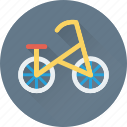 bicycle, bike, cycle, riding, travel icon