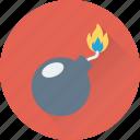bomb, dynamite, explosion, fireworks, volatile icon