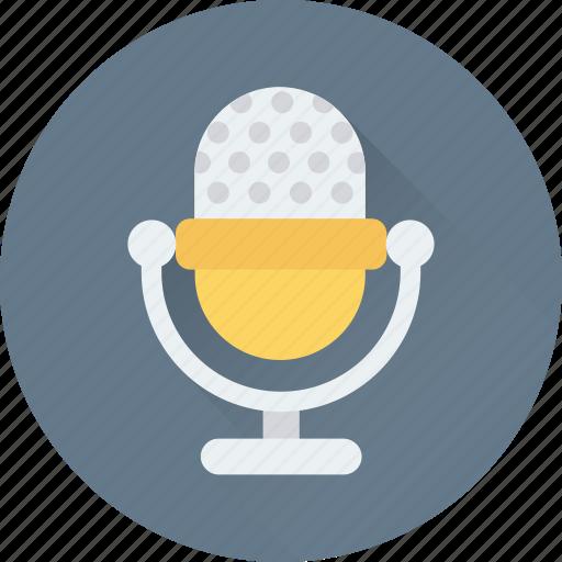 audio, mic, microphone, recording, sound icon