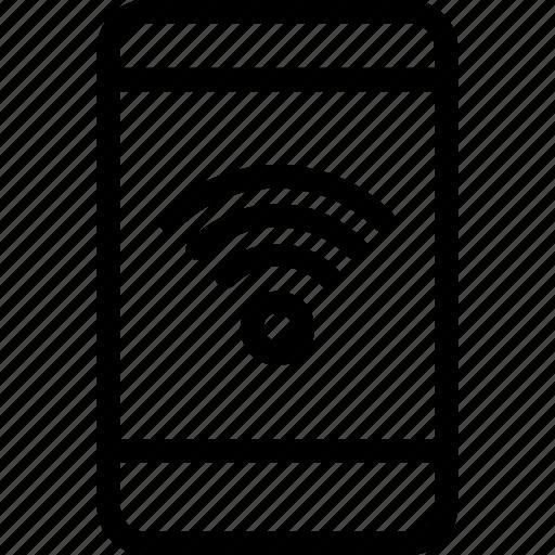 internet, mobile, mobile wifi, smartphone, wifi icon