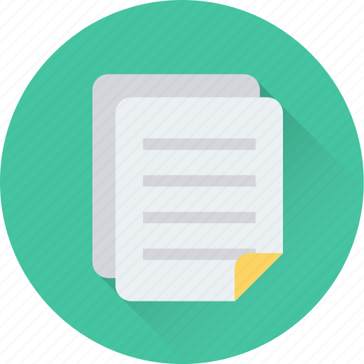 clipboard, document, memo, notes, sheet icon