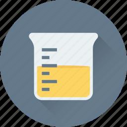 beaker, chemical, lab, liquid, water icon