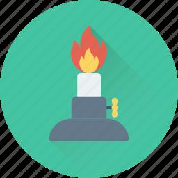 burner, lamp, research, science, spirit icon