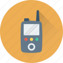 cordless phone, police radio, radio transceiver, transceiver, walkie talkie icon