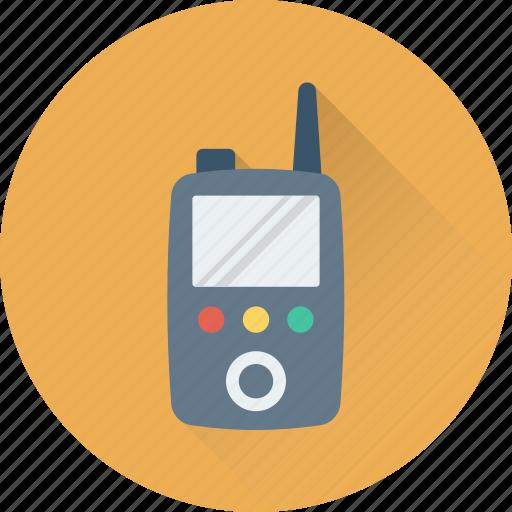 cordless phone, police radio, radio transceiver, transceiver, walkie talkie icon