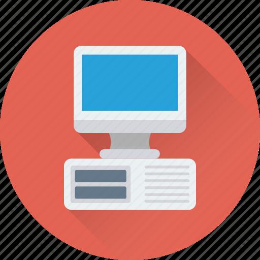 computer, cpu, desktop, hardware, pc icon