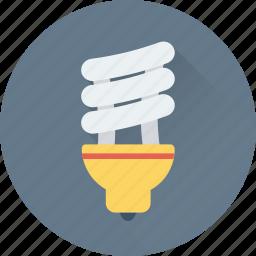 bulb, eco, energy saver, light, lightbulb icon