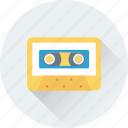 audio, cassette, musicassette, stereo, tape icon
