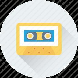 audio, cassette, musicassette, stereo, tape icon