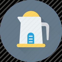electric kettle, jug, kettle, kitchen, utensil icon