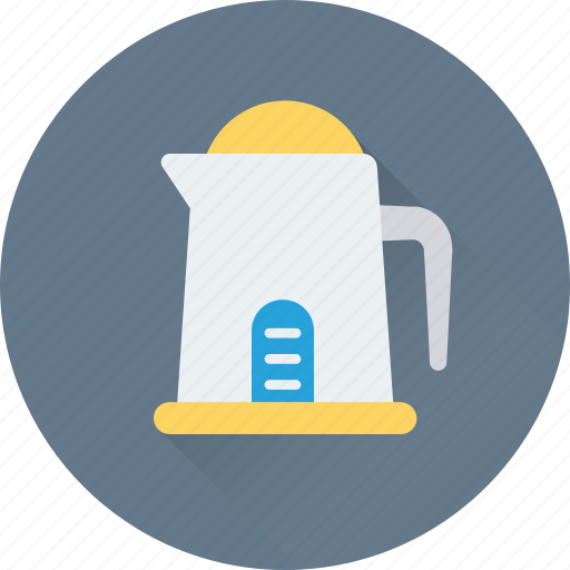 electric kettle, jug, kettle, kitchen, utensil icon