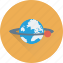 earth, globe, orbit, planet, universe icon