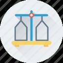 balance, freight, logistics, scale, shipping icon
