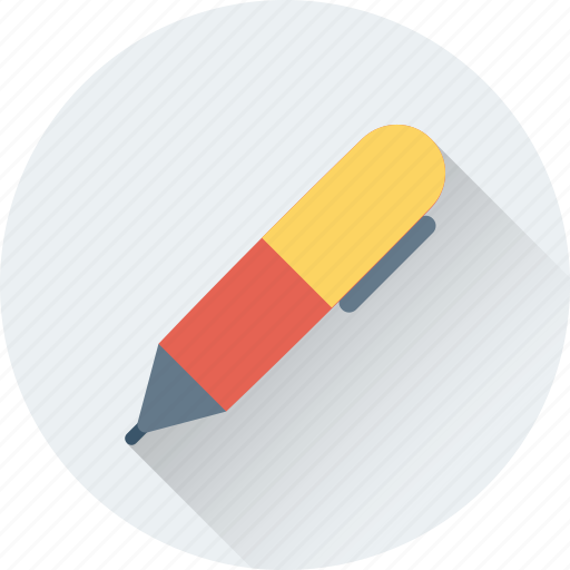 ballpoint, fountain, pen, stationery, write icon