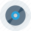 cd, compact disk, disk, dvd, media icon