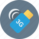 3g, flash, internet flash, memory, storage icon