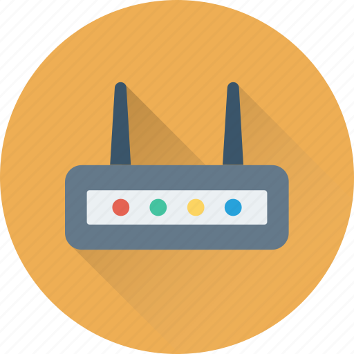 internet, modem, router, wireless, wlan icon